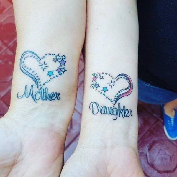 Mother daughter tattoo 120317104