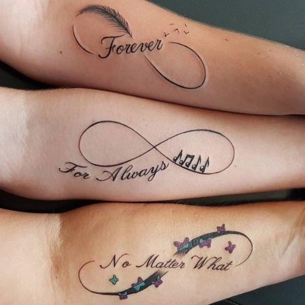 Mother daughter tattoo 12031755