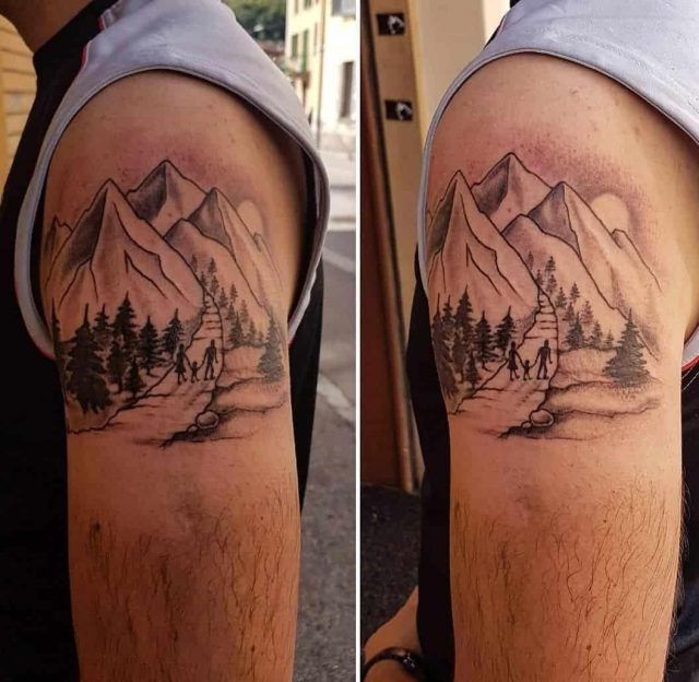 Mountain tattoo 39