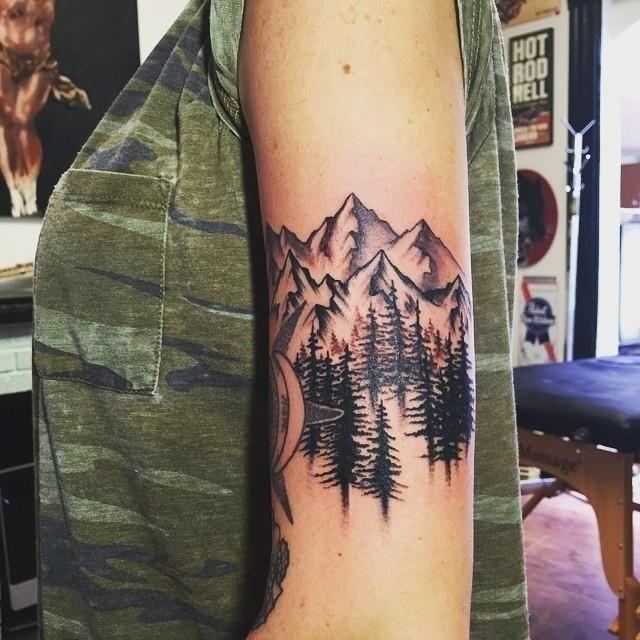 Mountain tattoo 40