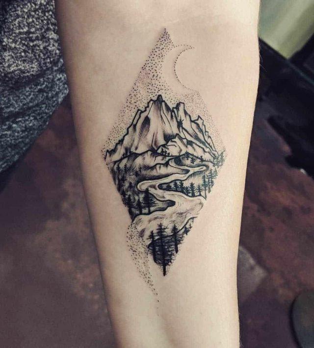 Mountain tattoo 41