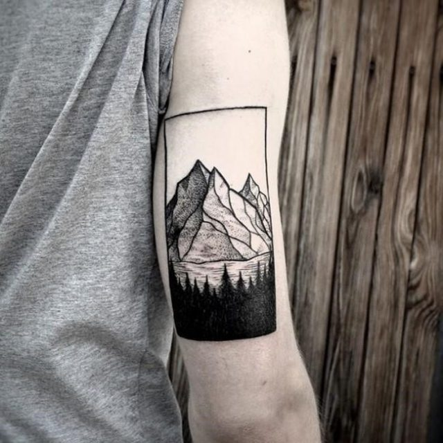 Mountain tattoo 42 650×650