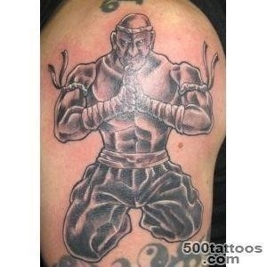 Muay thai tattoo 9543