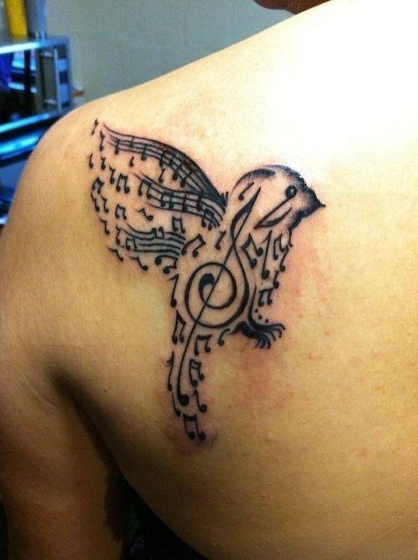 Music tattoo designs 18
