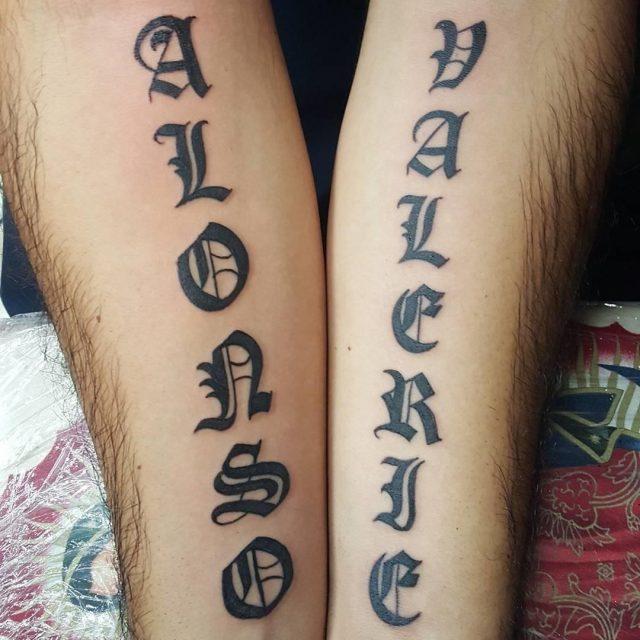 Name tattoo 18