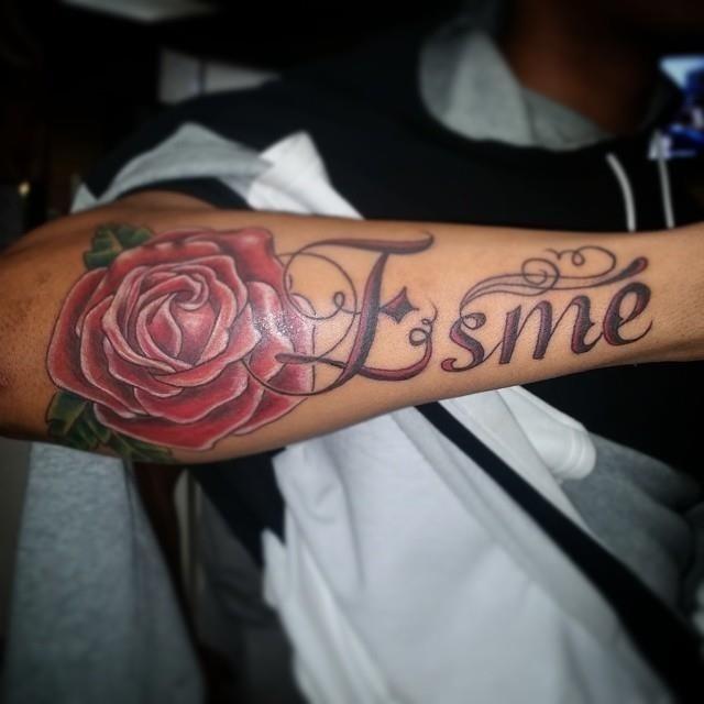 Name tattoo 9