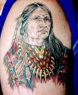 Native american tattoo 4