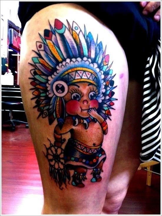 Native american tattoo designs 12