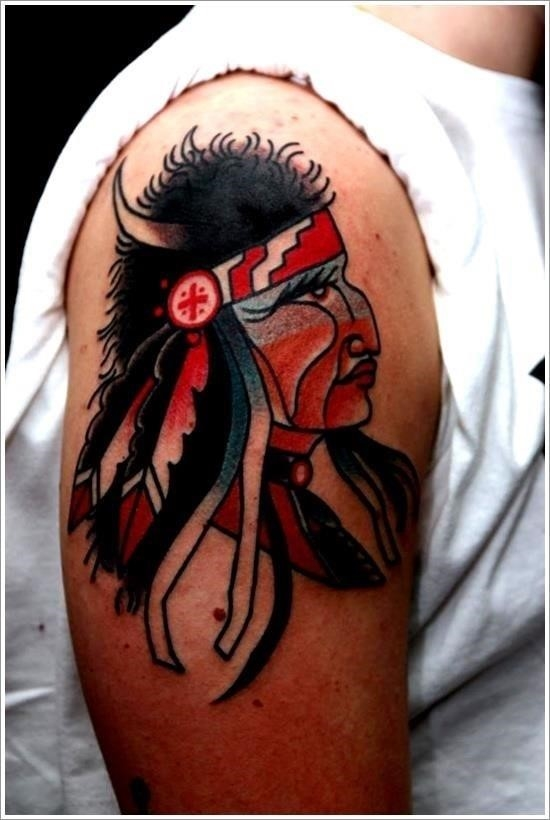 Native american tattoo designs 13