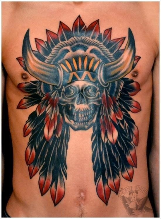 Native american tattoo designs 21