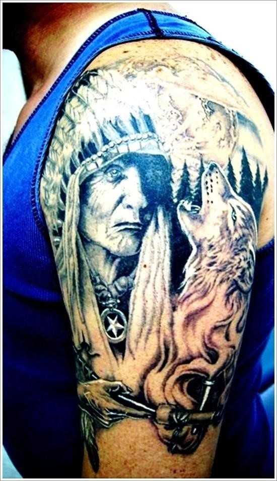 Native american tattoo designs 24
