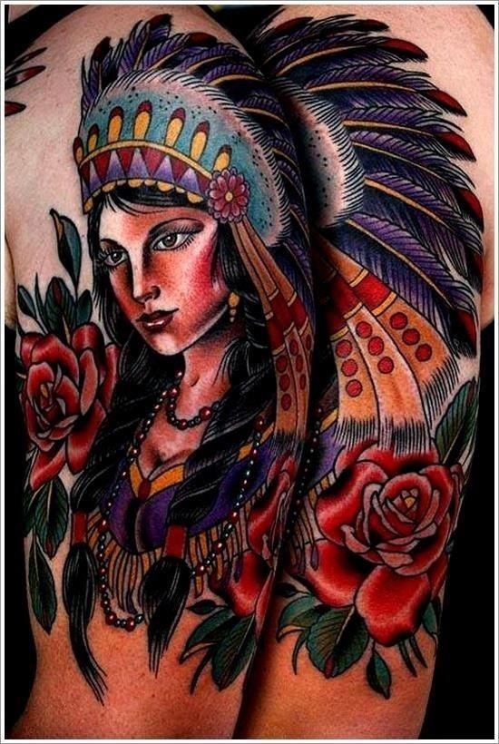Native american tattoo designs 29