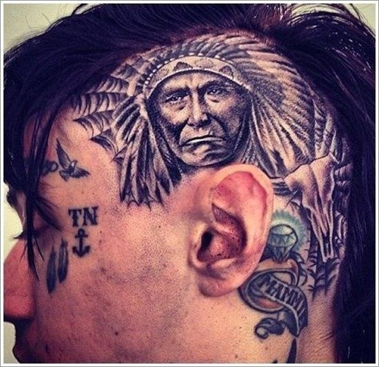 Native american tattoo designs 8