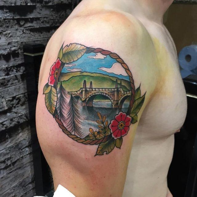 Nature tattoo 1
