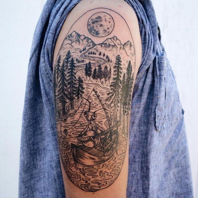 Nature tattoo 22