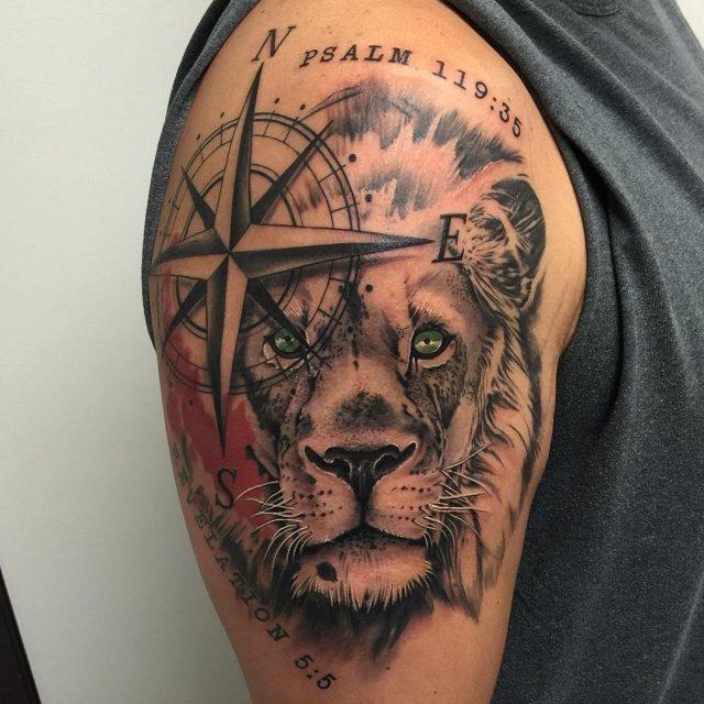 Nature tattoo 25