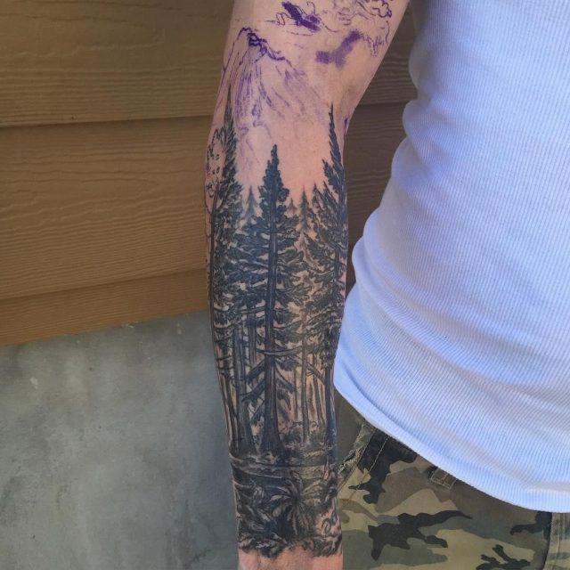 Nature tattoo 3