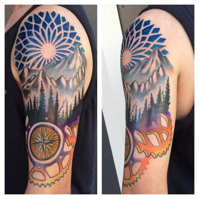 Nature tattoo 35