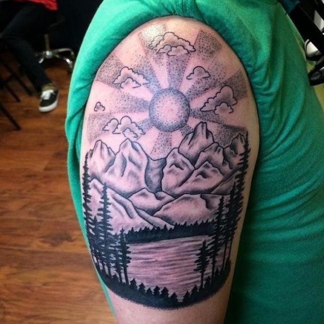 Nature tattoo 38 650×650