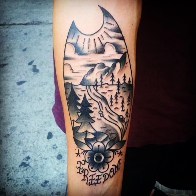 Nature tattoo 42