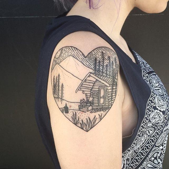 Nature tattoo 46