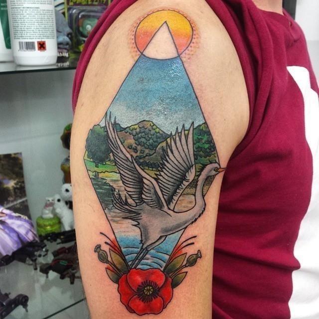 Nature tattoo 6