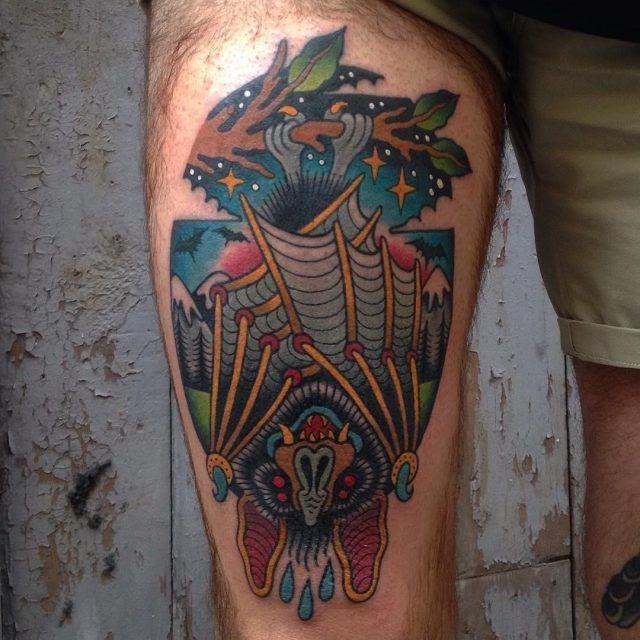 Nature tattoo 7