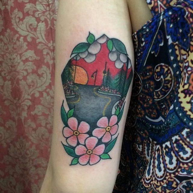 Nature tattoo 9