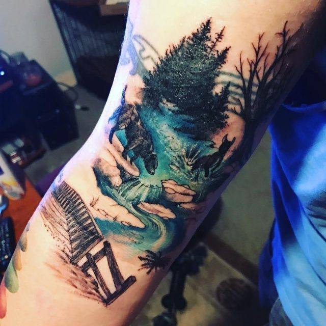 Nature tattoo  13
