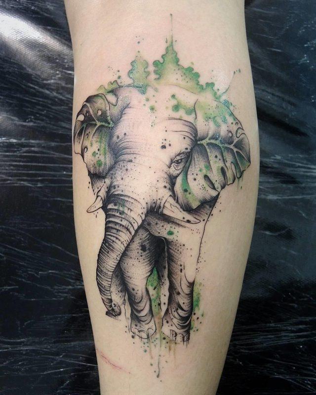 Nature tattoo  16