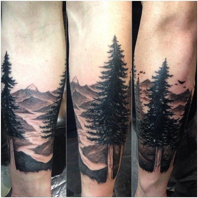 Nature tattoo  17