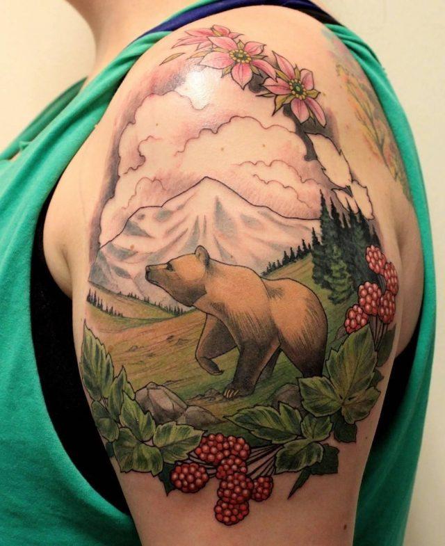 Nature tattoo  20