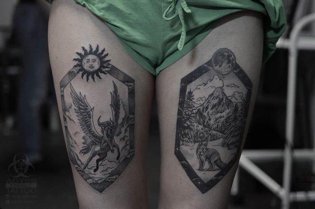Nature tattoo  29