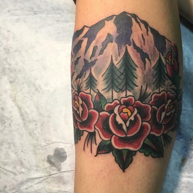 Nature tattoo  30