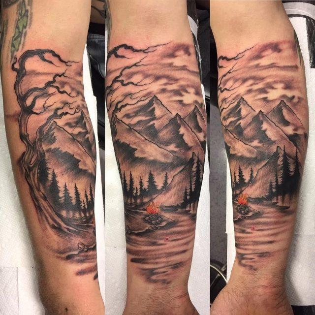 Nature tattoo  31