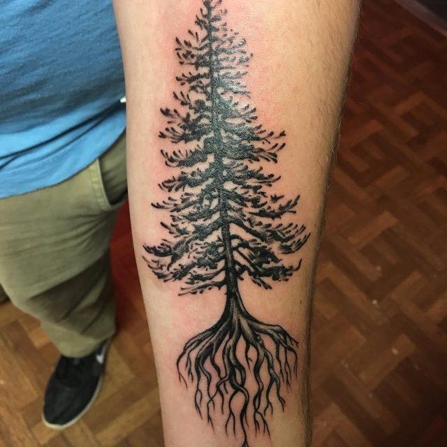 Nature tattoo  36