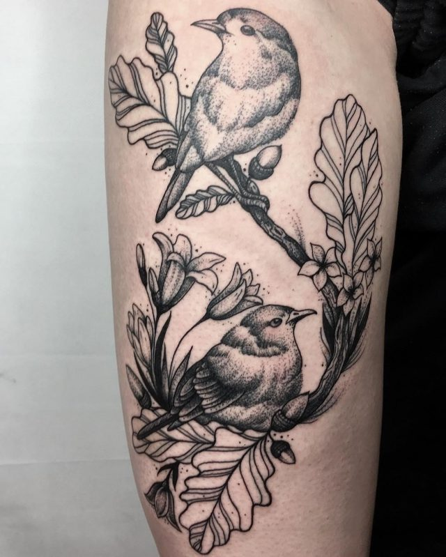 Nature tattoo  37