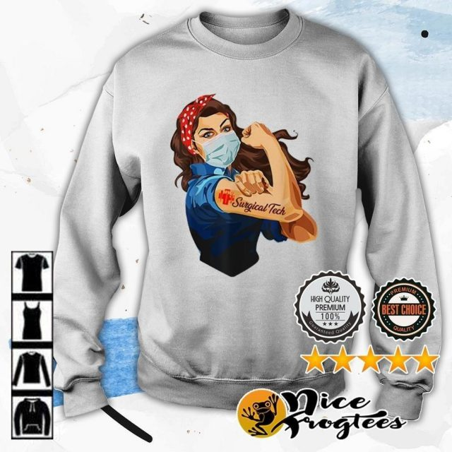 Nurse strong tattoos surgical tech covid 19 sweater