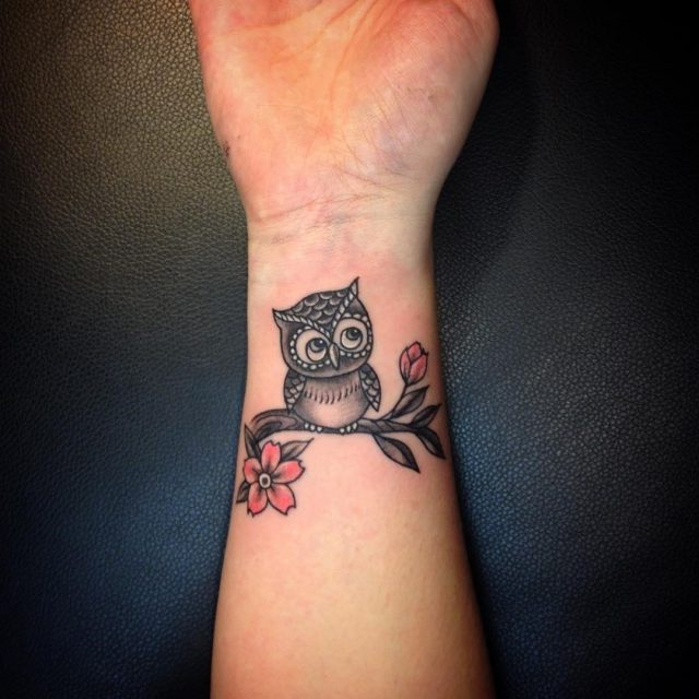 Owl tattoos 7