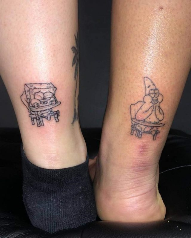 Patrick spongebob bestfriend tattoo marissa
