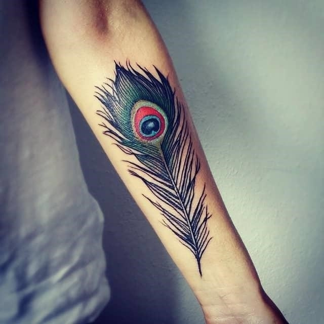 Peacock feather tattoos 27