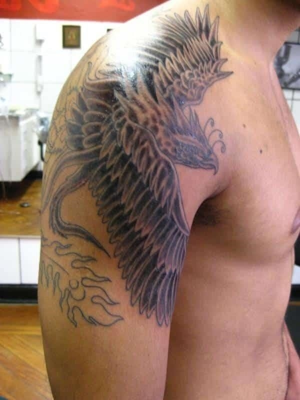 Phoenix tattoo arm menstattooideas
