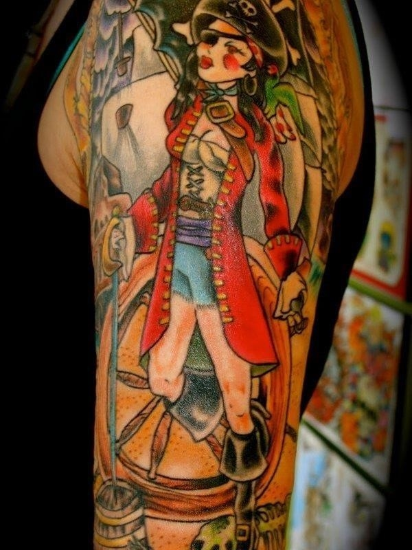 Pirate Tattoo 20
