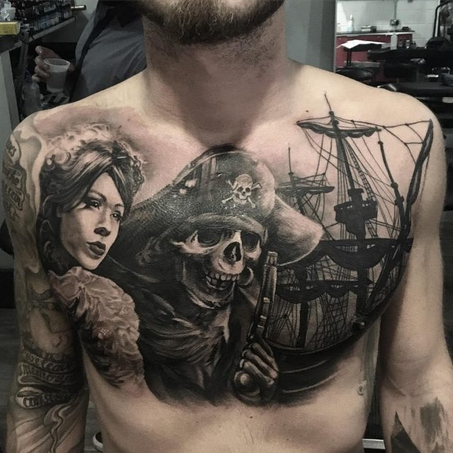 Pirate tattoo 48