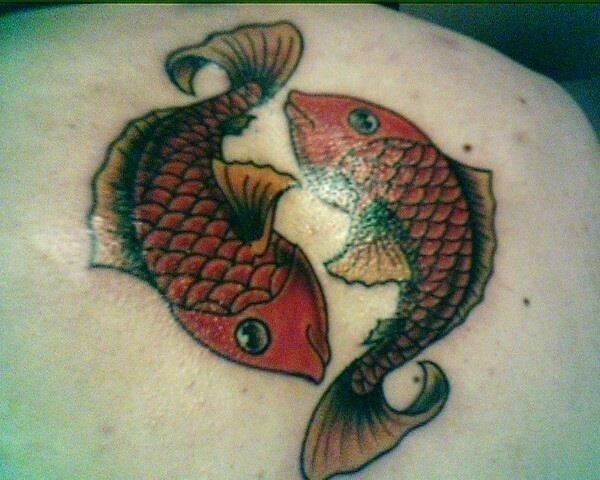 Pisces tattoos designs