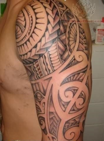 Polynesian best tattoo
