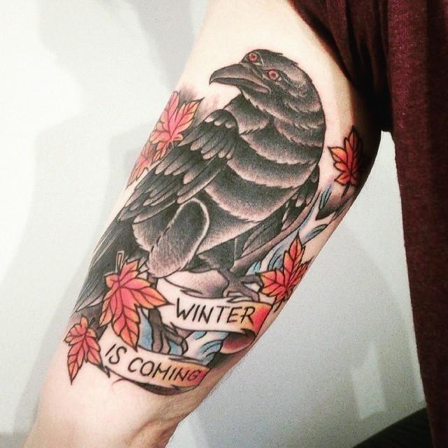 Raven tattoo 51