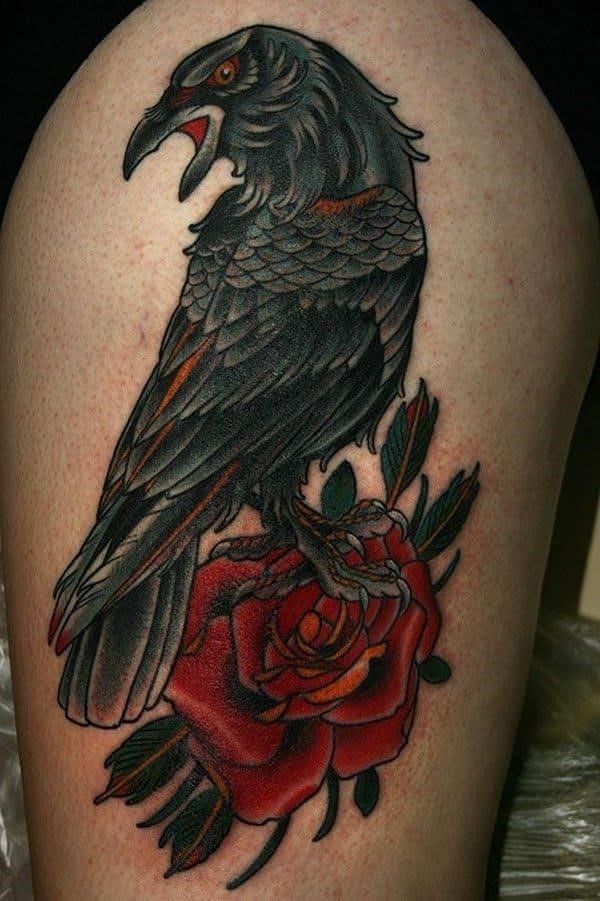 Raven tattoos 09