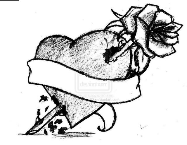 Real heart drawing heart tattoo design by nekoyokai93 d6i0za8