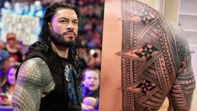 Reigns new ink